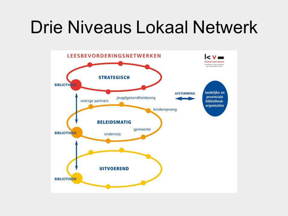Drie Niveaus Lokaal Netwerk