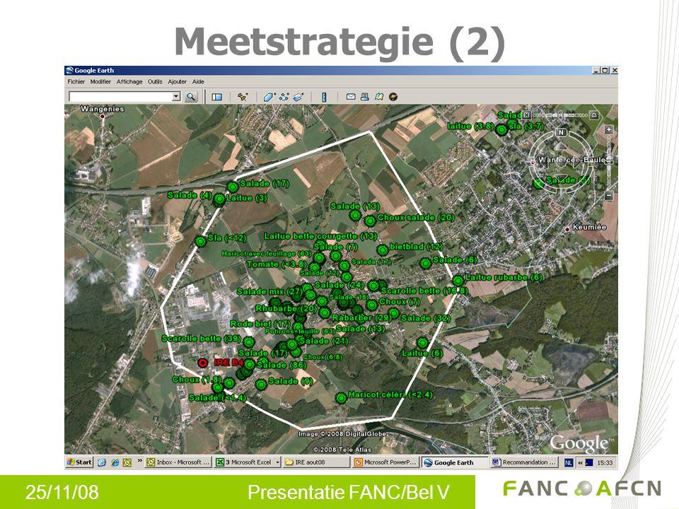 25/11/08 Presentatie FANC/Bel V Meetstrategie (2)