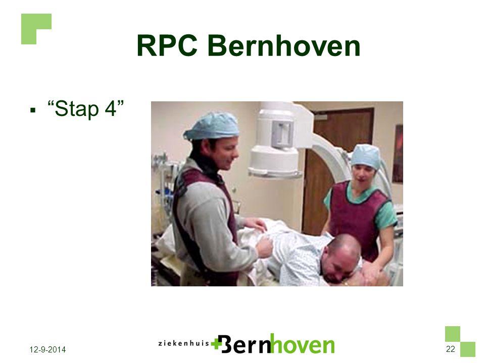 "22 12-9-2014 RPC Bernhoven  ""Stap 4"""