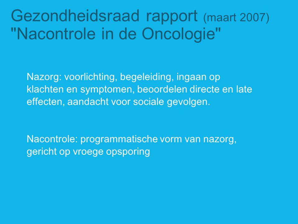 Gezondheidsraad rapport (maart 2007)