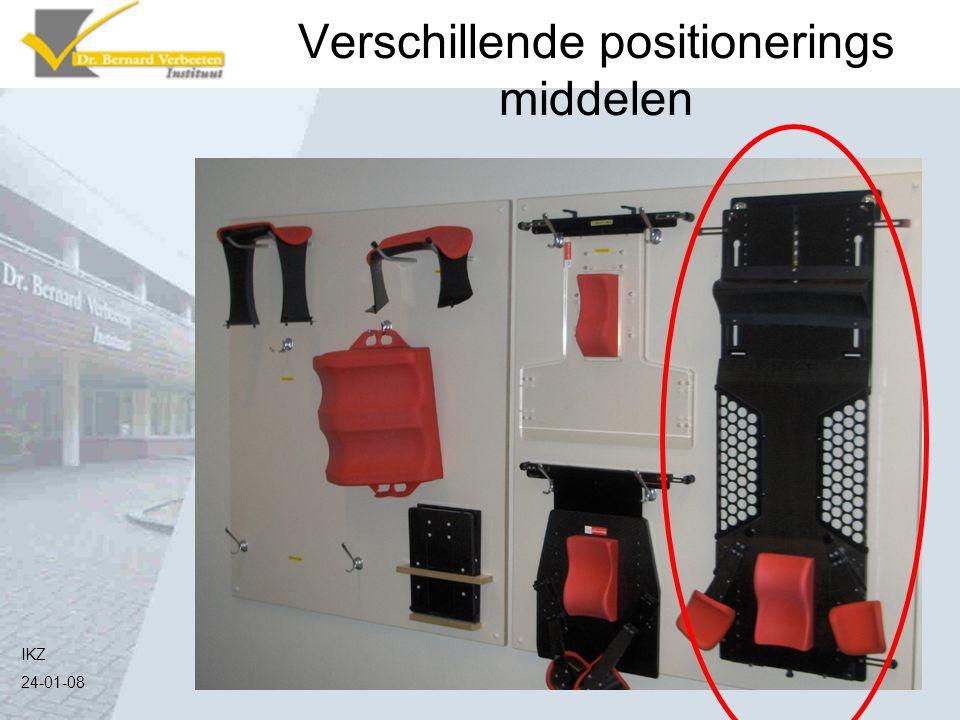 Verschillende positionerings middelen IKZ 24-01-08
