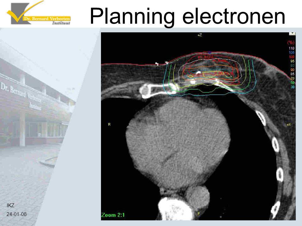 IKZ 24-01-08 Planning electronen