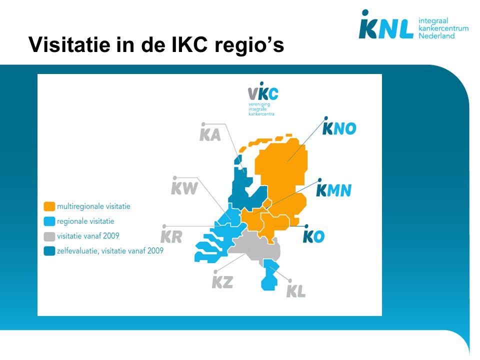 Visitatie in de IKC regio's