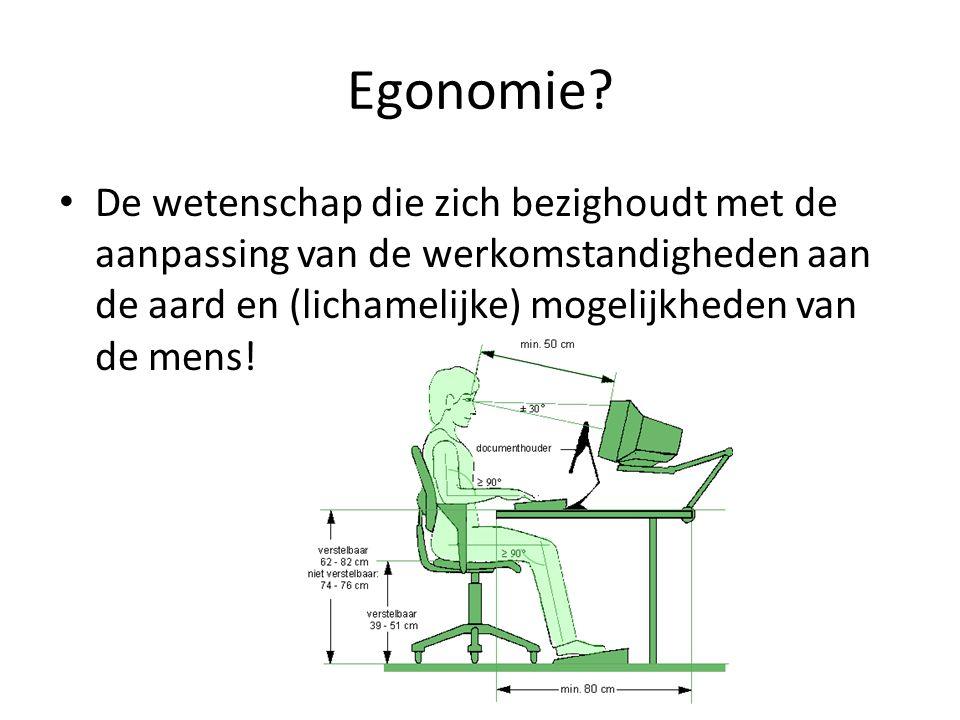 Egonomie.
