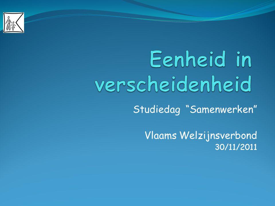 """Studiedag """"Samenwerken"""" Vlaams Welzijnsverbond 30/11/2011"""