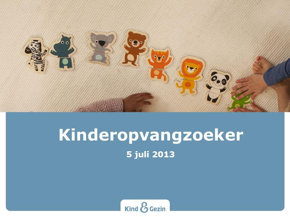 Kinderopvangzoeker 5 juli 2013