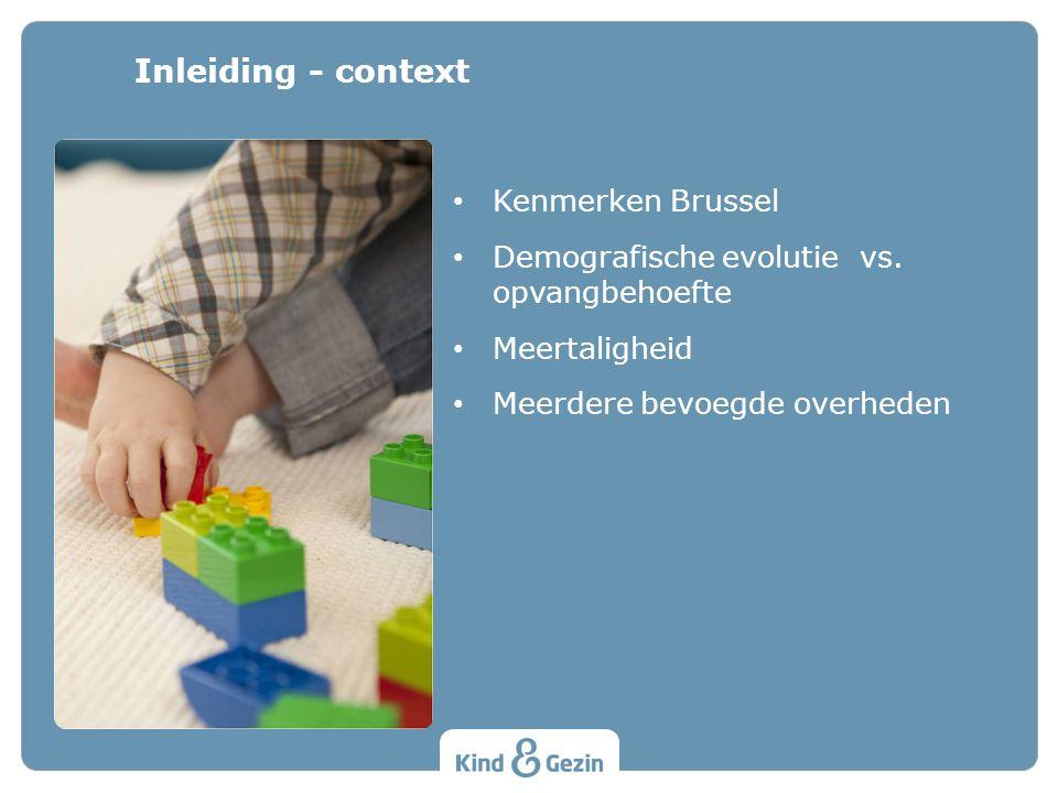 Kenmerken Brussel Demografische evolutie vs.