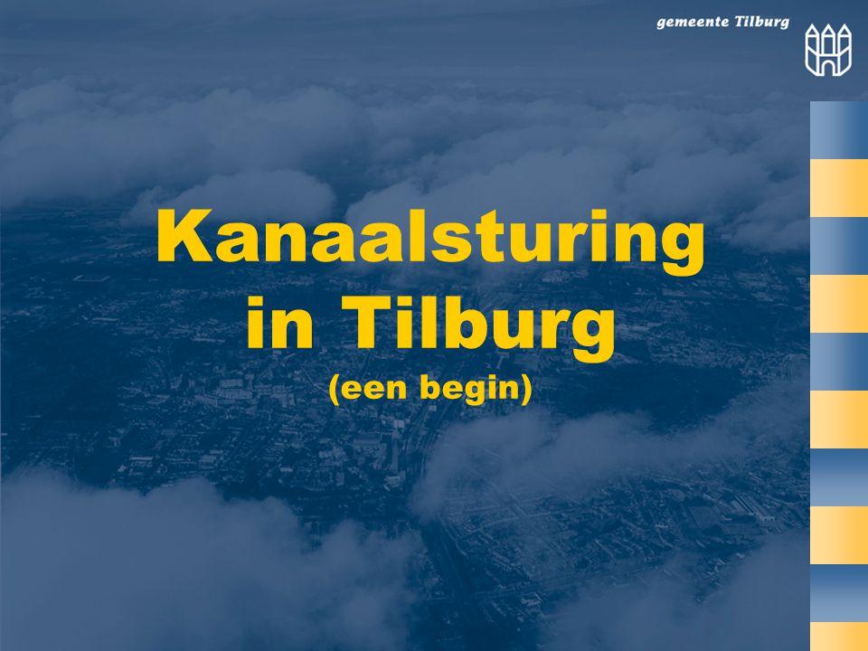 Kanaalsturing in Tilburg (een begin)