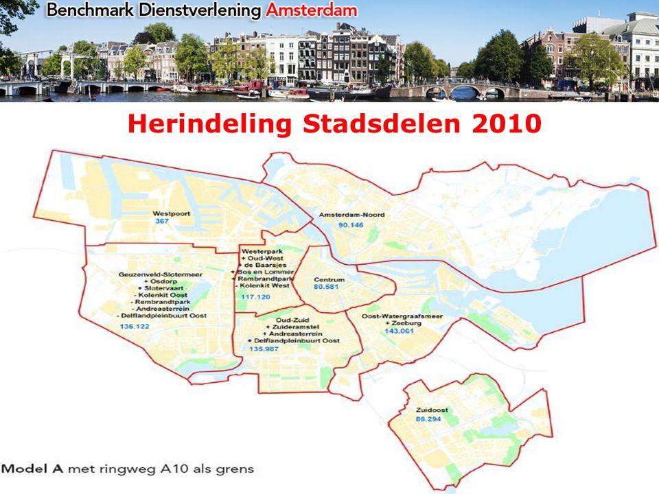 Herindeling Stadsdelen 2010