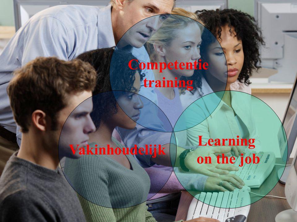 Competentie training Learning on the job Vakinhoudelijk