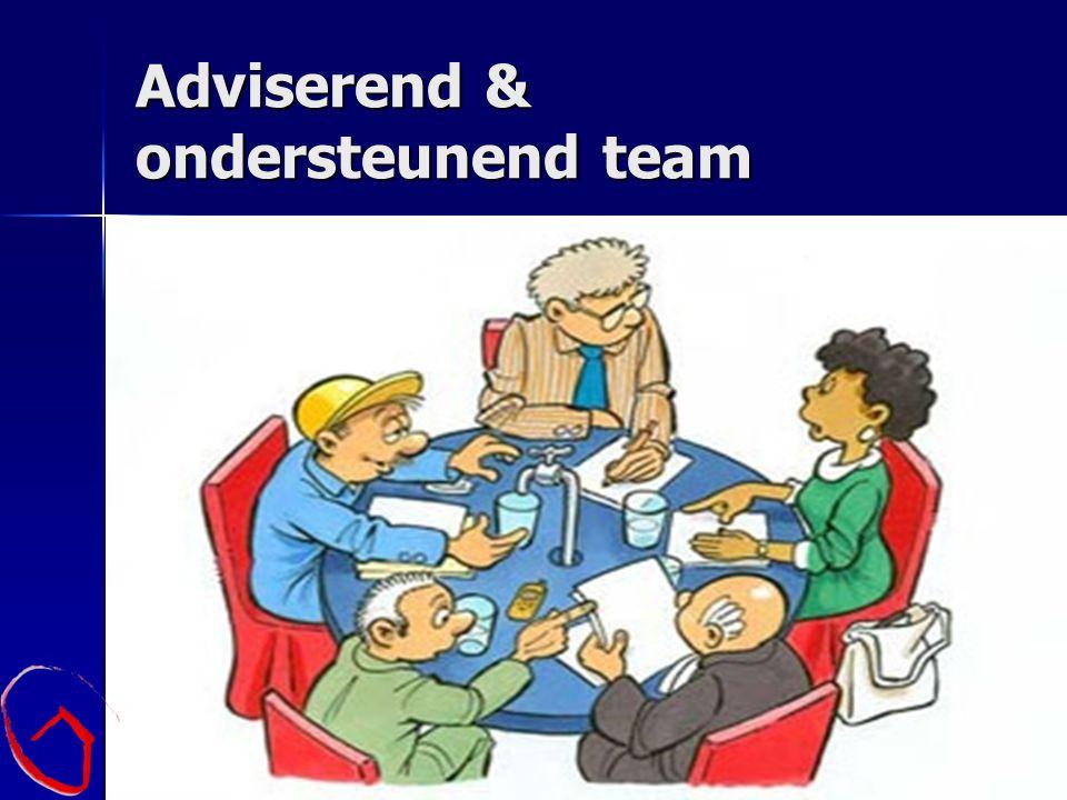 Adviserend & ondersteunend team