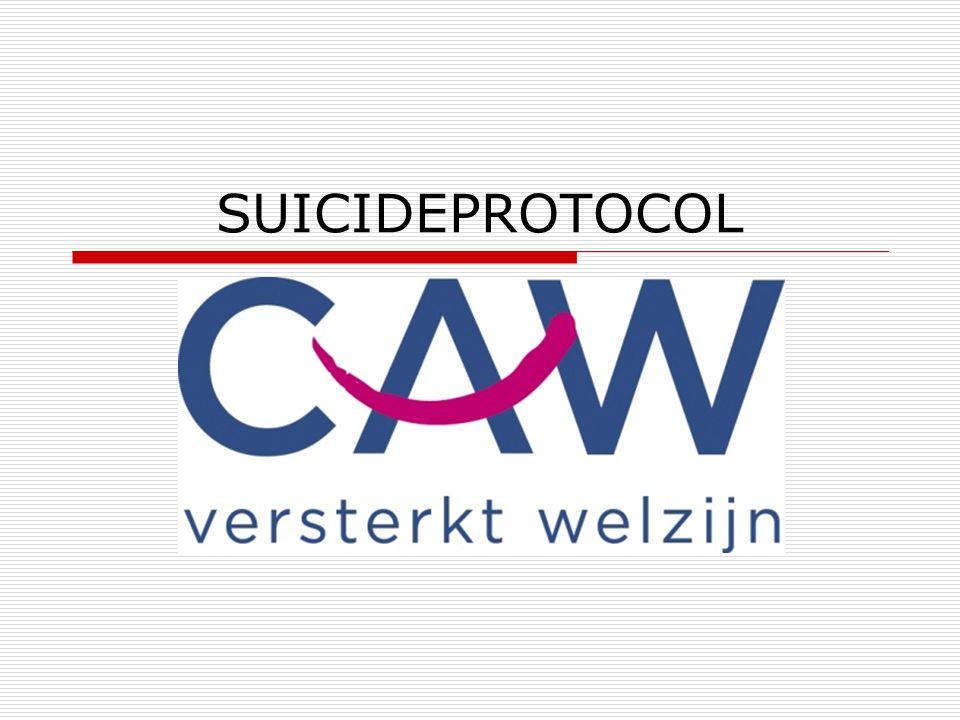 NIVEAU 4  kan alleen nog maar aan suïcide denken, geen oog voor mogelijke consequenties voor achterblijvers,.