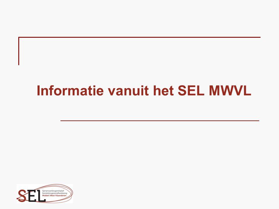 Informatie vanuit het SEL MWVL