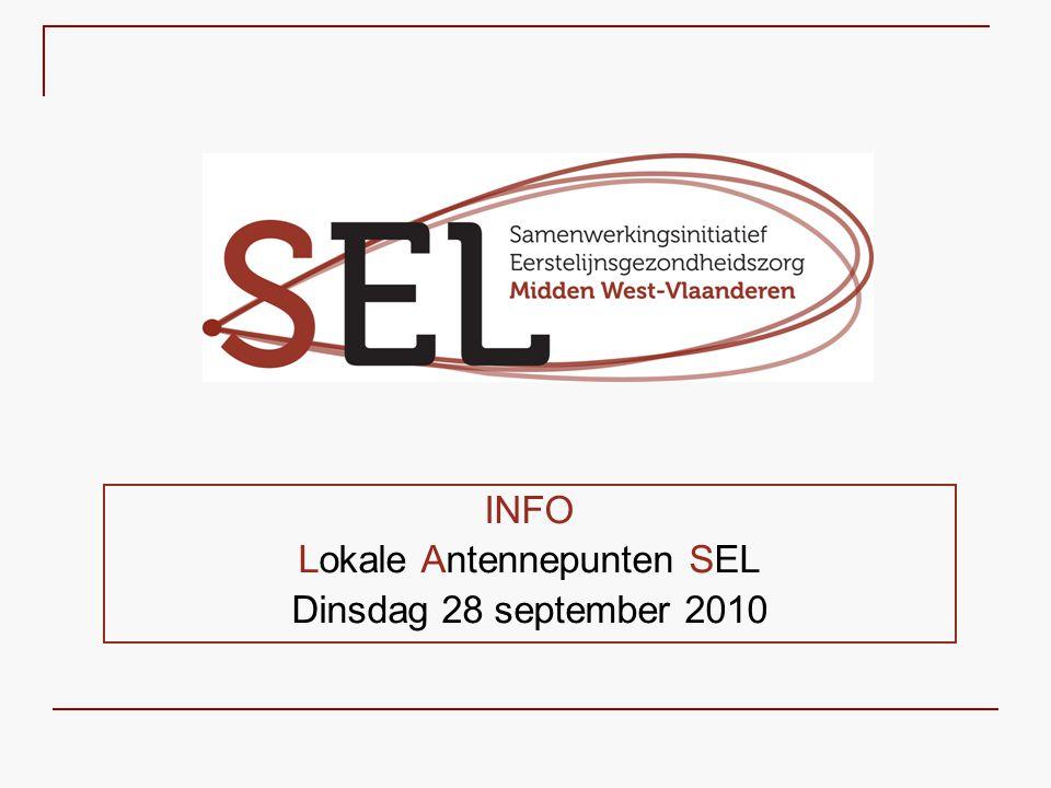 INFO Lokale Antennepunten SEL Dinsdag 28 september 2010