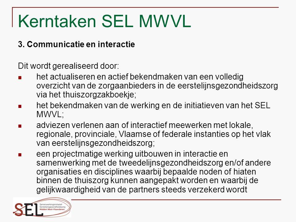 Structuur SEL MWVL 1.
