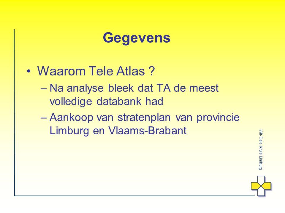 Wit-Gele Kruis Limburg Gegevens Waarom Tele Atlas .