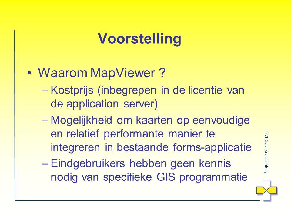 Wit-Gele Kruis Limburg Voorstelling Waarom MapViewer .