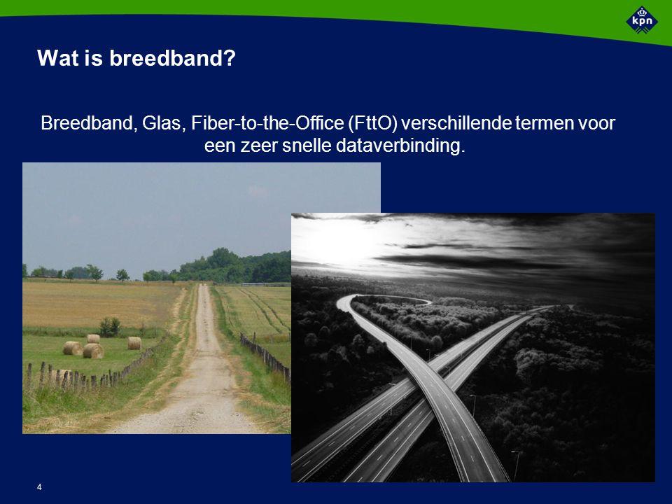 5 Wat stuurt de ontwikkeling van breedband?