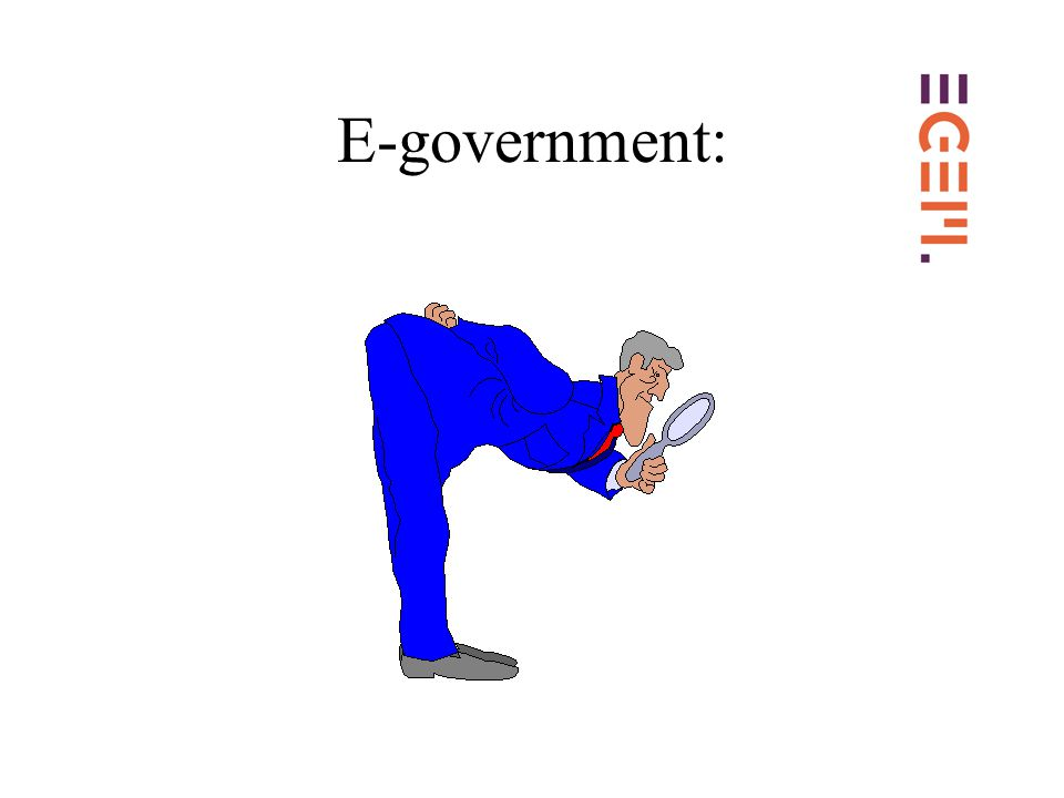 E-government: