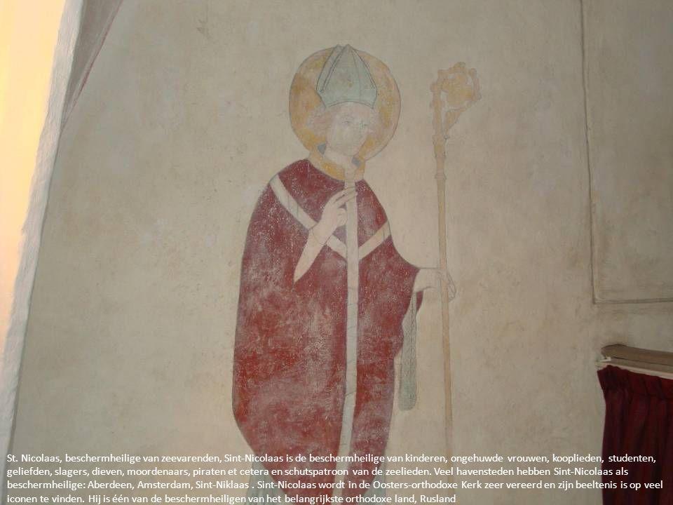 St. Nicolaas, beschermheilige van zeevarenden, Sint-Nicolaas is de beschermheilige van kinderen, ongehuwde vrouwen, kooplieden, studenten, geliefden,