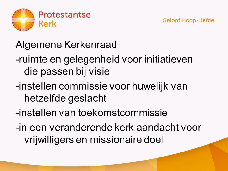 De huidige situatie en resultaten Kerkbalans 2013 Opbrengst was € 303.000, € 6.000 meer dan in 2012.