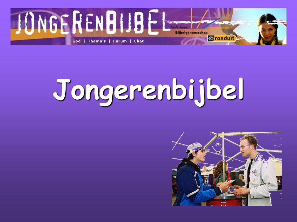 Samenwerking Nederlands Bijbelgenootschap EO - Ronduit Uitgeverij Jongbloed