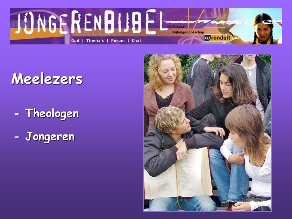 Meelezers - Theologen - Jongeren