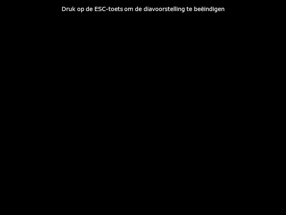 Druk op de ESC-toets om de diavoorstelling te beëindigen