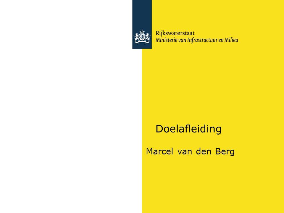 Doelafleiding Marcel van den Berg