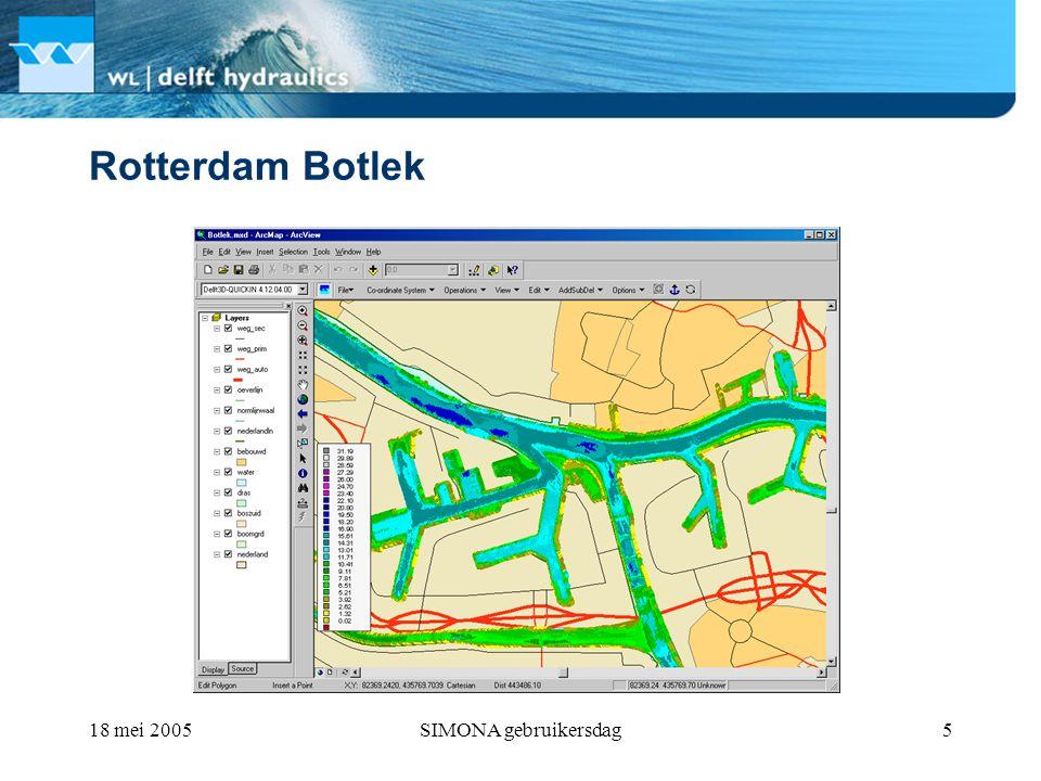 18 mei 2005SIMONA gebruikersdag5 Rotterdam Botlek