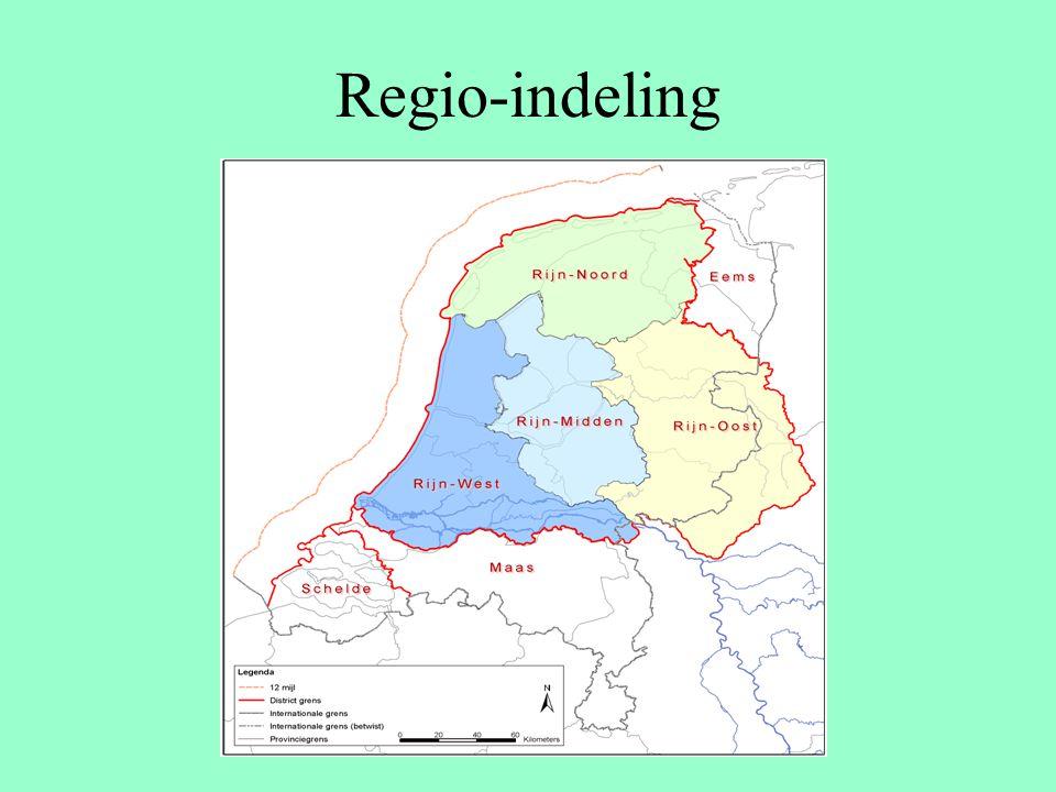 Regio-indeling