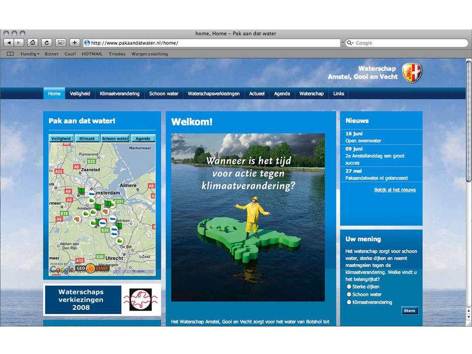 Pakaandatwater.nl //2 plaatjes//