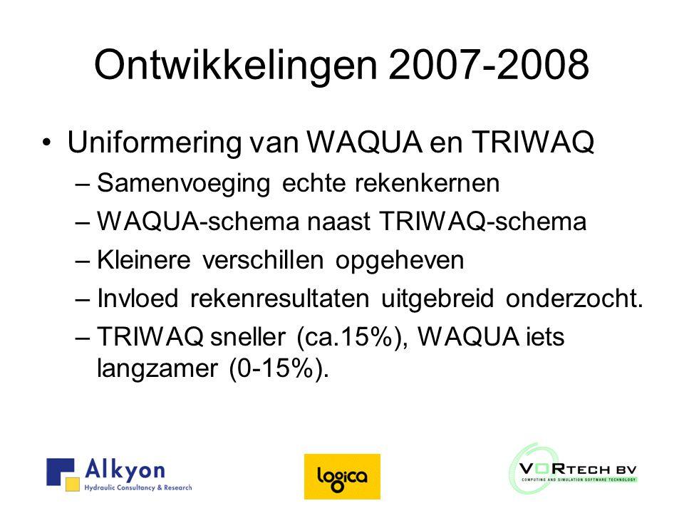 Uniformering WAQUA/TRIWAQ