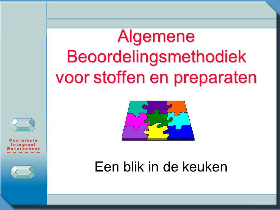 Het schema n Schema voor stoffen (pag 58) n Toelichting (pag 55) n Schema voor preparaten (pag 63) n Toelichting (pag 59)