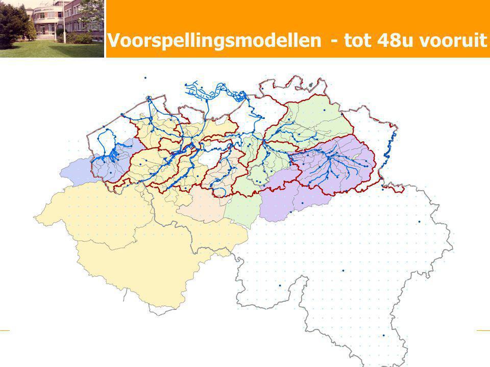 Waterbouwkundig Laboratorium - Hydrologisch InformatieCentrum Voorspellingsmodellen - tot 48u vooruit