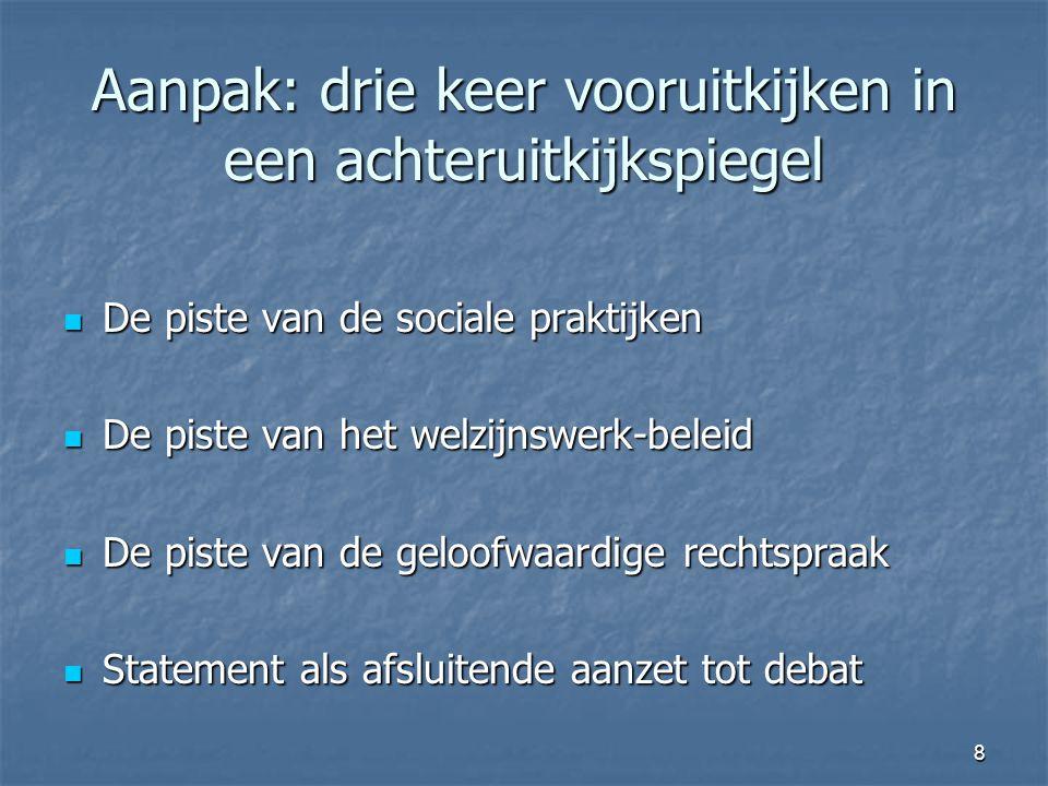 9 (Int.) ontwikkelingen in 'het sociale' Value-driven social work.