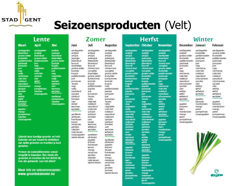 Seizoensproducten Seizoensproducten (Velt)