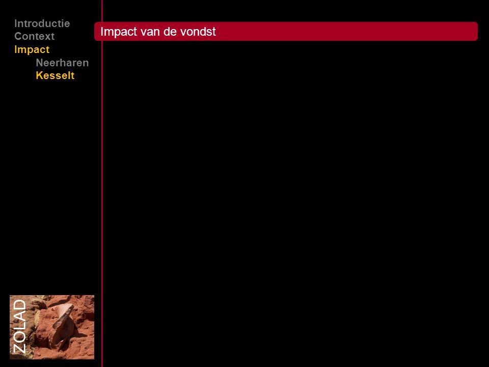Impact van de vondst ZOLAD Introductie Context Impact Neerharen Kesselt