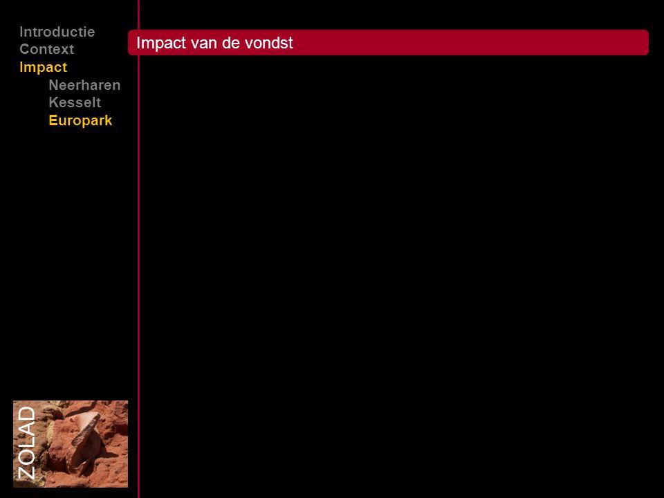 ZOLAD Introductie Context Impact Neerharen Kesselt Europark Impact van de vondst