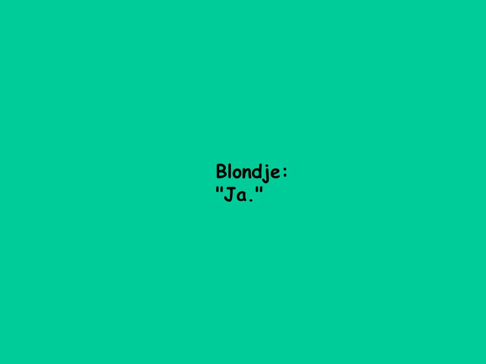 Blondje: