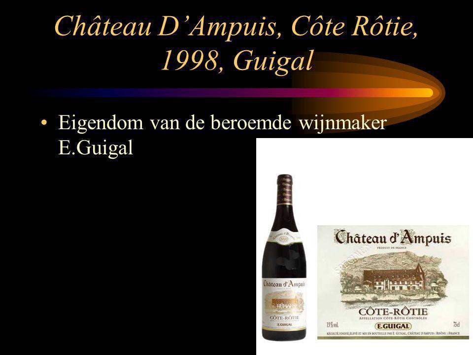 Château D'Ampuis, Côte Rôtie, 1998, Guigal Eigendom van de beroemde wijnmaker E.Guigal