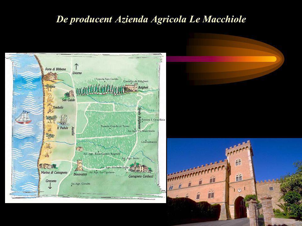 De producent Azienda Agricola Le Macchiole