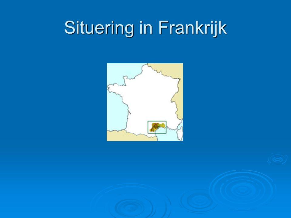 Situering in Frankrijk