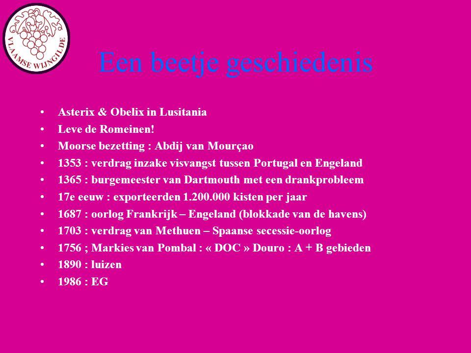 Een beetje geschiedenis Asterix & Obelix in Lusitania Leve de Romeinen! Moorse bezetting : Abdij van Mourçao 1353 : verdrag inzake visvangst tussen Po