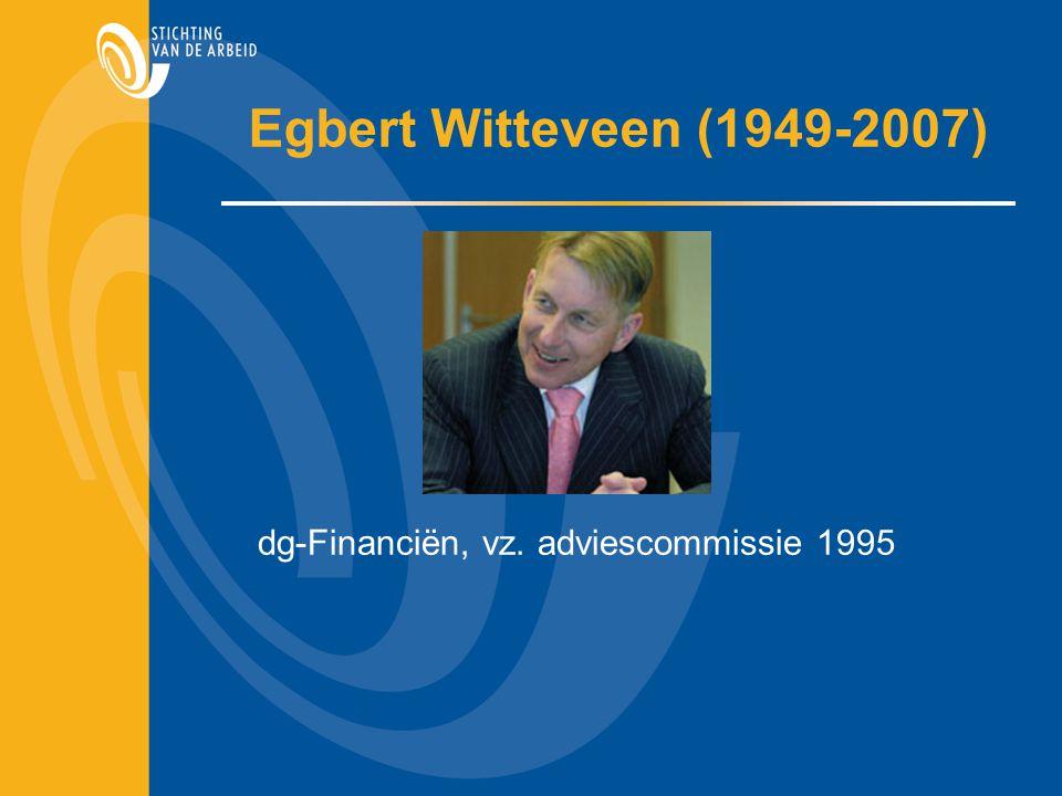 Witteveenkader  invoering 1 juni 1999  middelloon: 2,25% opbouw per jaar  eindloon: 2,0% opbouw per jaar  vijfpartijenakkoord: 2014 naar respectievelijk 2,15% en 1,9%