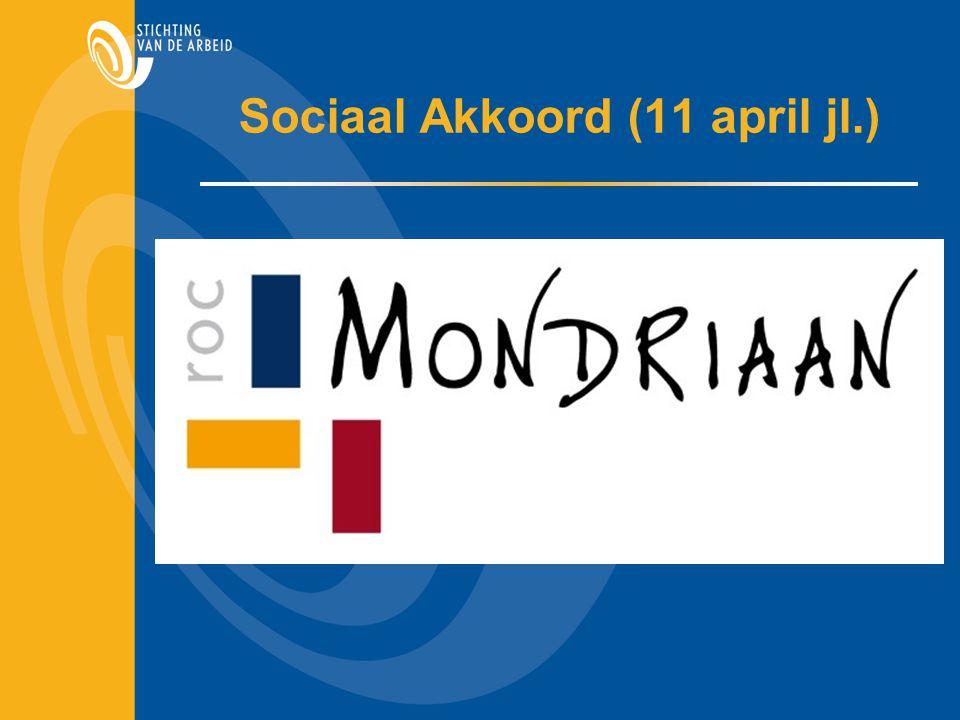 Sociaal Akkoord (11 april jl.)