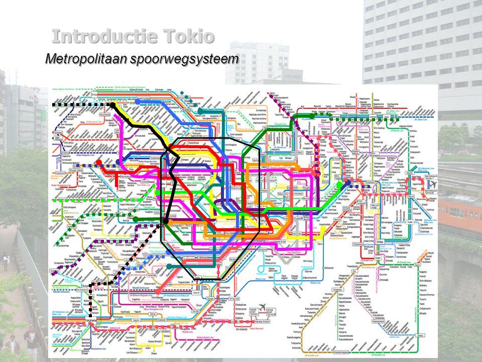 Metropolitaan spoorwegsysteem 5 Introductie Tokio