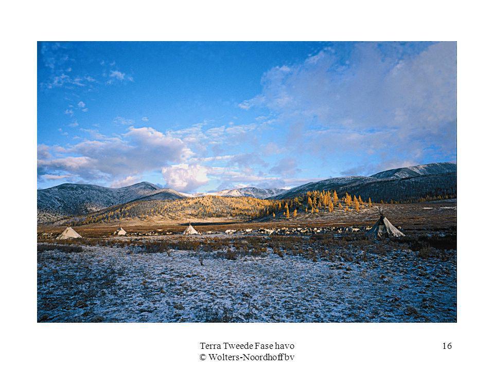 Terra Tweede Fase havo © Wolters-Noordhoff bv 16