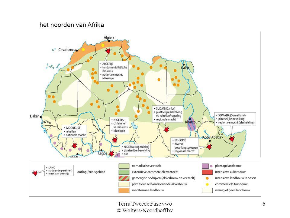Terra Tweede Fase vwo © Wolters-Noordhoff bv 7 de zuidelijke helft van Afrika