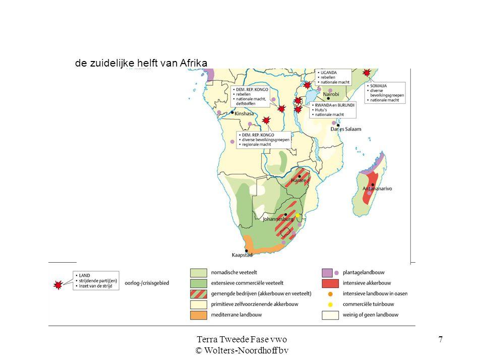 Terra Tweede Fase vwo © Wolters-Noordhoff bv 8 vier Afrikaanse landen